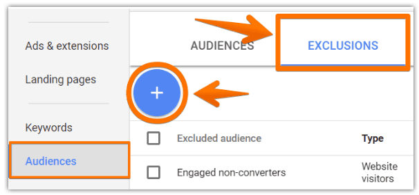 Custom audiences toevoegen
