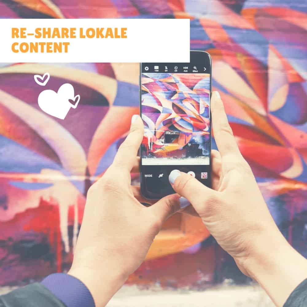 re-share lokale content
