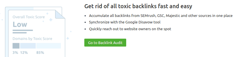 Backlink audit voor toxic links