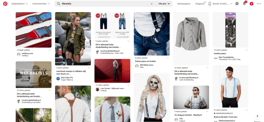 #bretels op pinterest